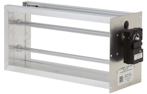ZDSP – Rectangular Side Mount Plug-In Zone Damper